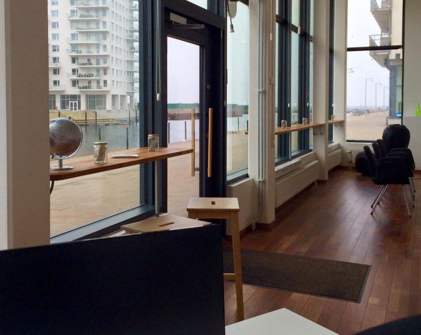 På vårt nya Malmö-kontor är äntligen internet …