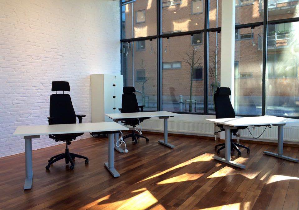 Progress av kontoret i Malmö